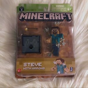 MINECRAFT Series 4 Steve with Arrows New